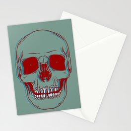 3D Skully Stationery Cards