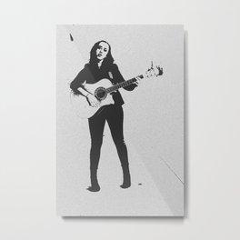 You Rock Girl Metal Print