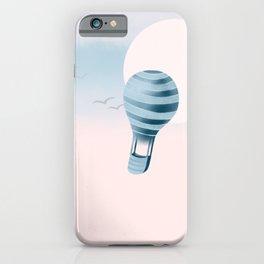 Pastel series: hot air balloon iPhone Case