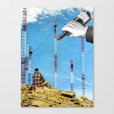 To Those Who Care, And Those Who Don't Canvas Print