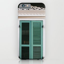 New Orleans Creole Cottage iPhone Case