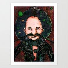 SpaceJohn #12345678 Art Print