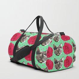 Calico Roses Duffle Bag