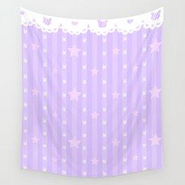 Kawaii Purple Wall Tapestry