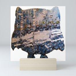 """Owl Snow"" Mini Art Print"
