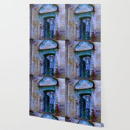 Window The Ensemble of the Monastery of Deposition of the Robe (16th - 20th centuries) Wallpaper