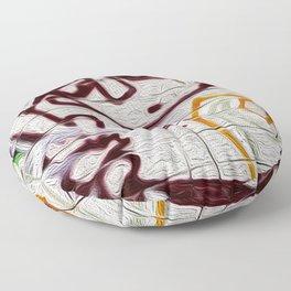 retro scan 001 Floor Pillow