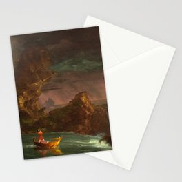 Thomas Cole, The Voyage of Life Manhood, 1842 Stationery Cards