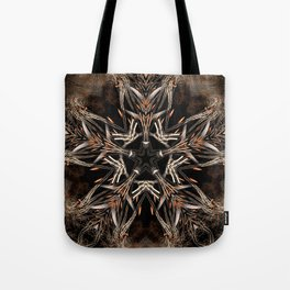 Fractal Organic Star Tote Bag