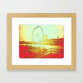 """""""River Thames"""" Framed Art Print"""