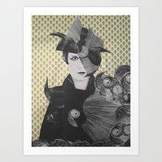 LOUSIE TRANENPALAST Art Print
