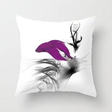 Fish never sleep Throw Pillow