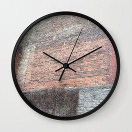 Old Montreal Historical Shadows Wall Clock