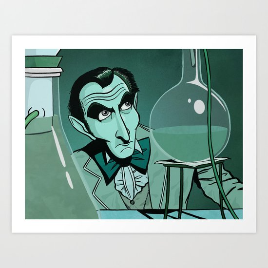 Chemical Cushing Art Print