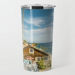 Sunny Summer Day 5533 Laguna Beach Travel Mug