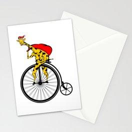 Giraffe Santa Chritmas Stationery Cards