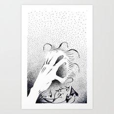 To Grasp Creativity Art Print