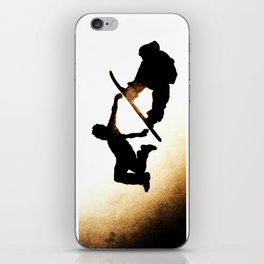 Free Fall I iPhone Skin