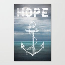 Hope Anchor Canvas Print