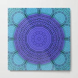 Mandala Today Metal Print