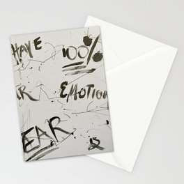 Fear is Fake Stationery Cards