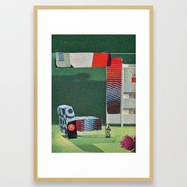 o. ld f. uture 5 Framed Art Print