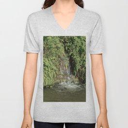 The Waterfall Unisex V-Neck