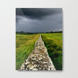 Hadrian's Wall Metal Print