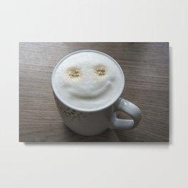 good morning coffee Metal Print