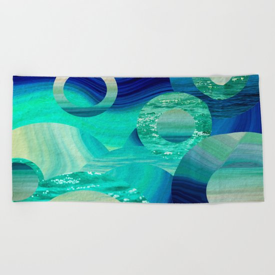 SEA-NCHRONICITY Beach Towel