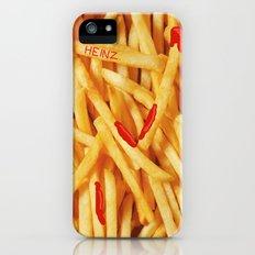 Fries & Ketchup Slim Case iPhone (5, 5s)