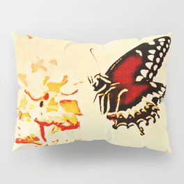 Swallowtail Coming In For A Landing Pillow Sham