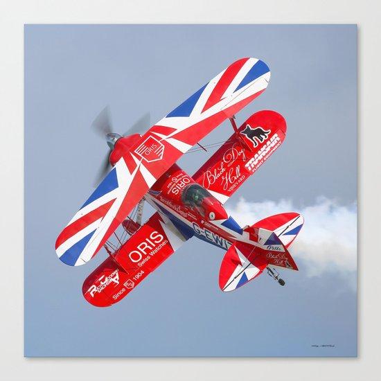 Stunt plane Canvas Print