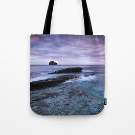 Gull Rock Sunset Tote Bag
