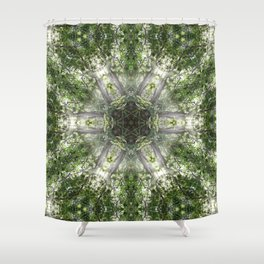 Kuil Cahaya Shower Curtain