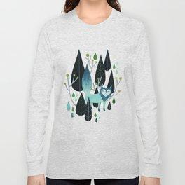 Foxy Forest Long Sleeve T-shirt