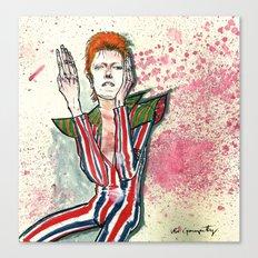 Schiele's Bowie Canvas Print