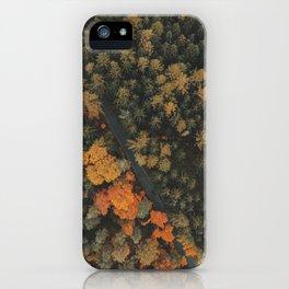 Autumn Passage iPhone Case