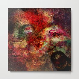 Spirits residual     (This Artwork is a collaboration with the talented artist Timothy Davis ) Metal Print