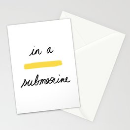 In a Yellow Submarine x Telma W. Stationery Cards