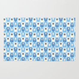 Weather jellyfishes Rug
