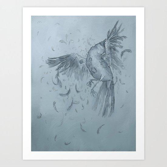 Detachment Art Print