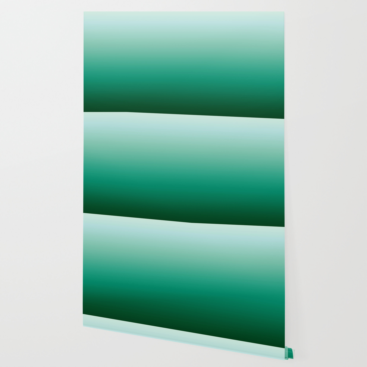 Ombre Teal Green Gradient Pattern