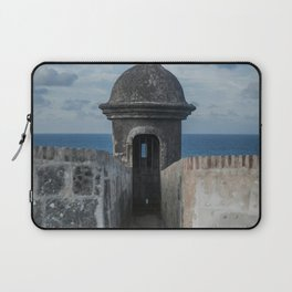 Fortification walls in Puerto Rico Laptop Sleeve