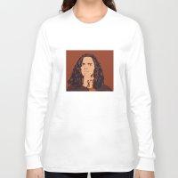 eddie vedder Long Sleeve T-shirts featuring Eddie Vedder by Renan Lacerda