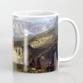 Albert Bierstadt The Rocky Mountains, Lander's Peak Coffee Mug