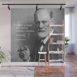 Sigmund Freud - Beards Wall Mural