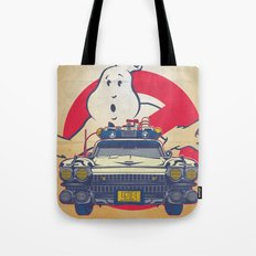 Who ya gonna call? Ghostbusters Movie Poster Tote Bag