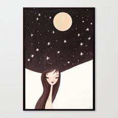 night hat Canvas Print