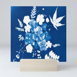 How do your flowers grow? Mini Art Print